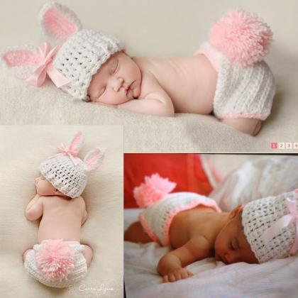 Boys Girls Cute Crochet Costume Baby Photo on Luulla
