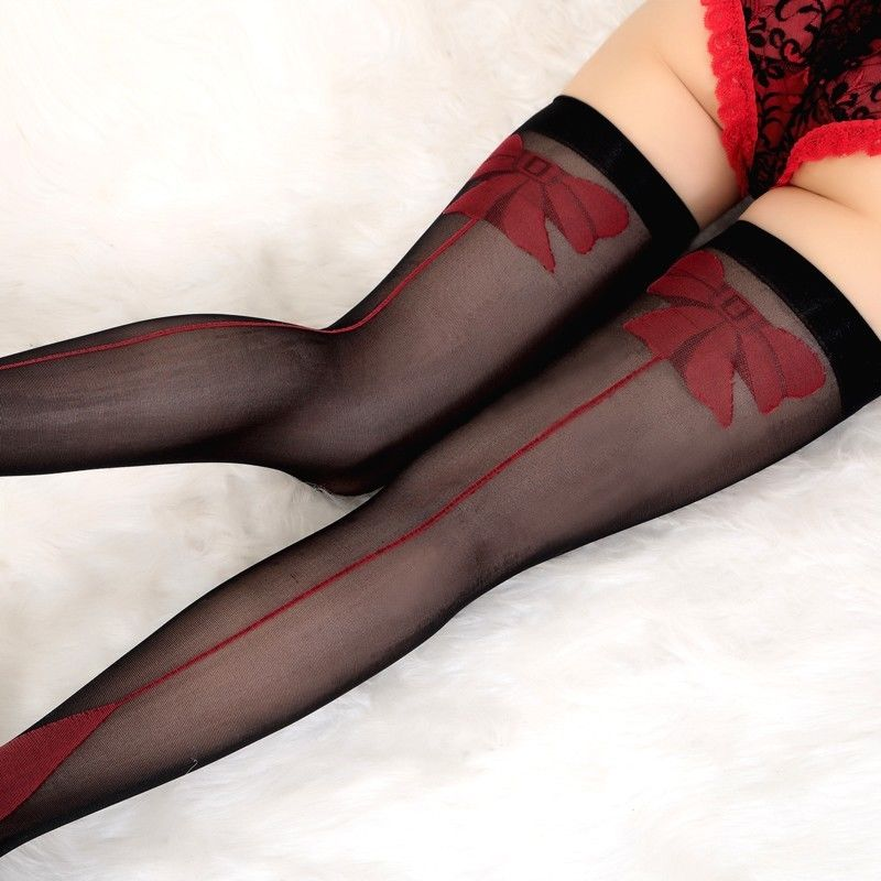 e8bf6b110 Sexy Sheer Lace Top Thigh High Stockings Thigh Highs Hosiery Women Stay Up  WZ025