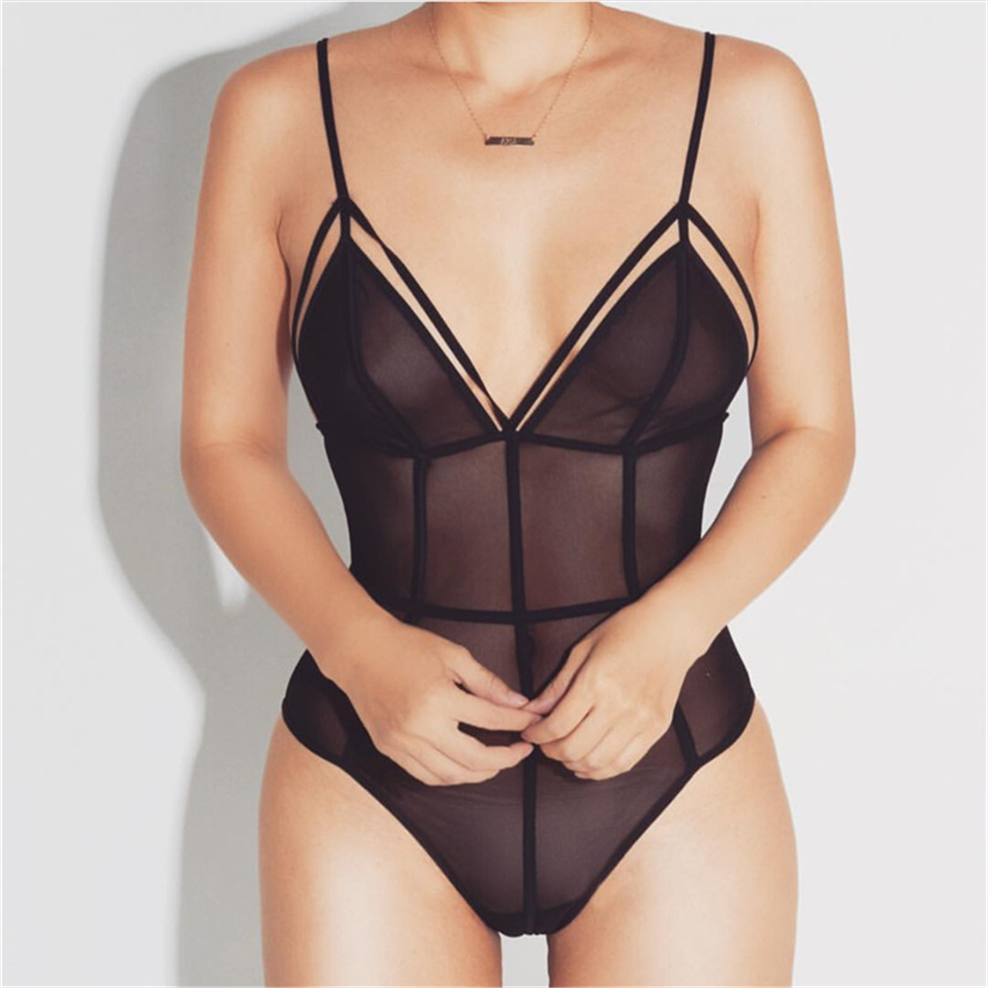 df97c2de06d Black Sexy Bodysuits Women on Luulla