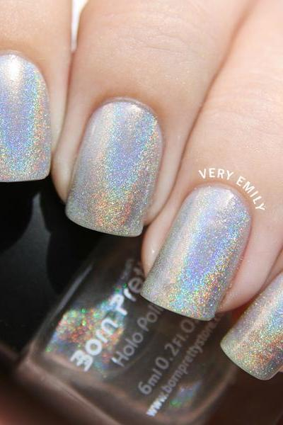 Lacquer with Hologram Effect