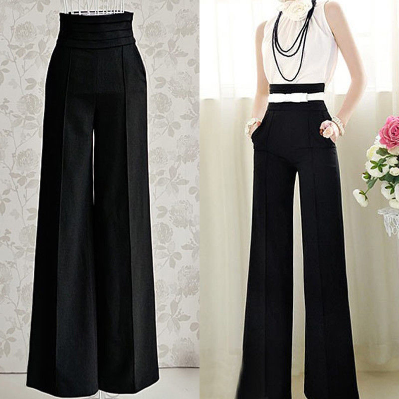 Womens High Waisted Track Pants